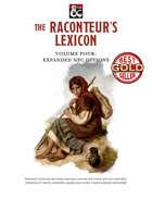 The Raconteur's Lexicon Volume Four: Expanded NPC Options