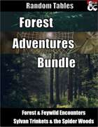 Forest Adventures Bundle - Random Tables [BUNDLE]