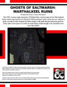 GS03: Ghosts of Saltmarsh: Warthalkeel Ruins Color Maps