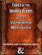 Codex of the Infinite Planes Vol 24 Mount Celestia