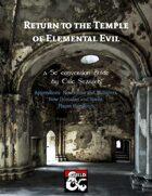 Return to the Temple of Elemental Evil 5E Conversion (Appendices)