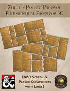 Zuilin's Pocket Pages of Fundamental Facts for 5E