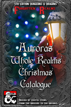 Aurora's Whole Realms Christmas Catalogue