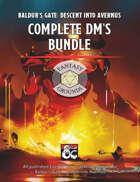 Baldur's Gate: Descent into Avernus Complete DM's Bundle (maps, guides, cheatsheets and more) (Fantasy Grounds)