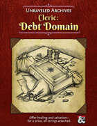 Cleric: Debt Domain