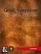 Genus Vampiricum: A Study in the Family Vampire (Fantasy Grounds)