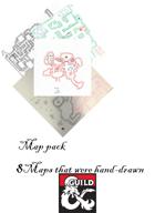 Hand Drawn Grid maps