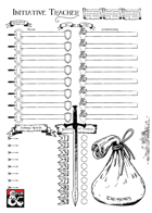 Initiative Tracker Sheet (vers. 2)