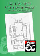 Uthtower Vault - Roll 20 Map