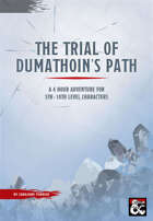 The Trial of Dumathoin's Path