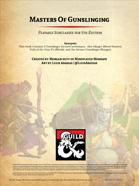 Masters of Gunslinging: D&D5e Subclasses