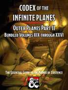 Codex of the Infinite Planes Outer Planes II [BUNDLE]