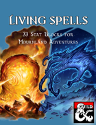Eberron: Living Spells Collection for Fantasy Grounds
