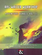 RPG Writer Workshop Summer 2020 Vol. II [BUNDLE]