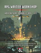 RPG Writer Workshop Summer 2020 Vol. III [BUNDLE]