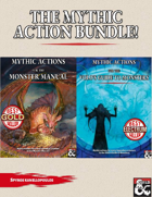 The Mythic Action bundle! [BUNDLE]