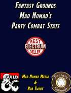 Fantasy Grounds Mad Nomad's Party Combat Stats