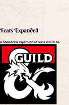 Feats Expanded