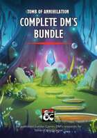 Tomb of Annihilation DM's Resources [BUNDLE]