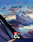 Snow Elf Subrace