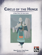 Druid Circle of the Henge