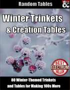 Winter Trinkets and Creation Tables - Random Tables