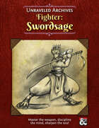 Fighter: Swordsage