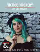 Ginny Di's Vicious Mockery : 100 D&D Insults