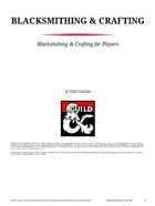 Blacksmithing & Crafting