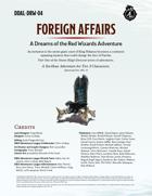 DDAL-DRW-04 Foreign Affairs
