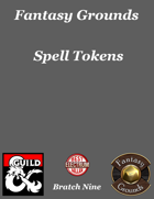 Fantasy Grounds 'Spell Tokens' extension