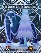 In Darkest Day, In Deepest Snow (Fantasy Grounds)