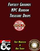 Fantasy Grounds NPC Random Treasure Drops