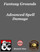 Fantasy Grounds 'Advanced Spell Damage' extension