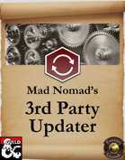 Mad Nomad's 3rd Party Updater
