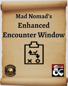 Mad Nomad's Enhanced Encounter Window