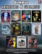 """18 Archetypes Bundle by Nicolas ""Zehus"" L"" [BUNDLE]"