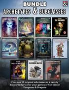"""18 Archetypes Bundle by Nicolas ""Zehus"" L"" [BUNDLE]"