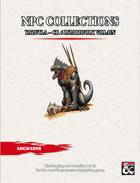 NPC Collections Yazutla - CR 6 Lizardfolk Villain