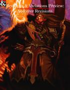 Revisions & Variations Preview: Sorcerer