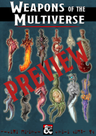 [Preview] Weapons of the Multiverse