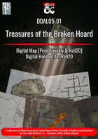 DDAL 05-01 Treasure of the Broken Hoard Map Pack