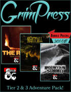 Grim Press Adventure Pack [BUNDLE]