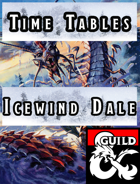 Icewind Dale Time Tables