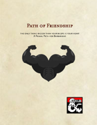 Path of Friendship - A Primal Path for Barbarians