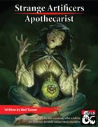 Strange Artificers: the Apothecarist