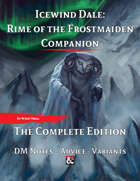 Icewind Dale: Rime of the Frostmaiden Companion Bundle [BUNDLE]