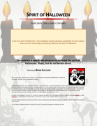 Spirit of Halloween, Sorcerer: Hallowed Origins