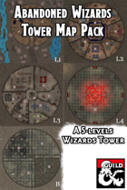 Abandoned Wizards Tower Map Pack