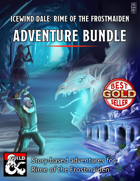 Icewind Dale: Rime of the Frostmaiden Adventure Bundle 1